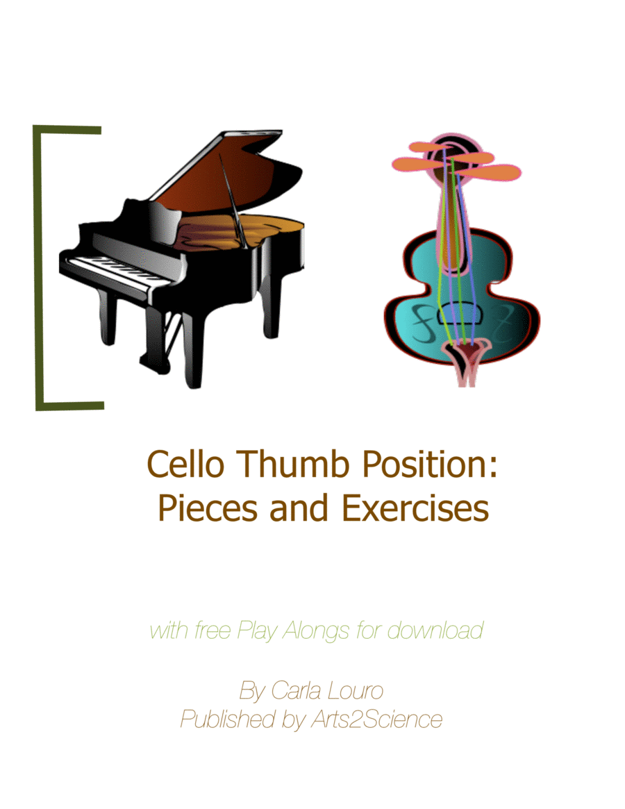 Cello Thumb Position: Pieces and Exercises