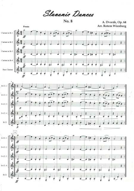 Slavonic Dance No.8, Op.64