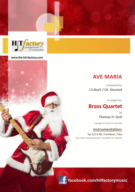 Ave Maria – Bach/ Gounod – Brass Quartet