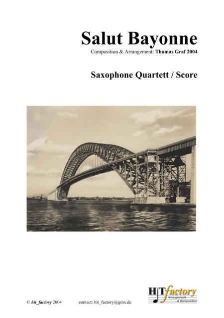 Salut Bayonne - Samba, Saxophone Quartet