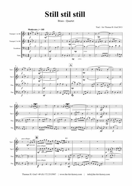 Still still still - Brass Quartet