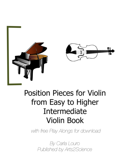 Position Pieces for Violin from Easy to Higher Intermediate Violin Book