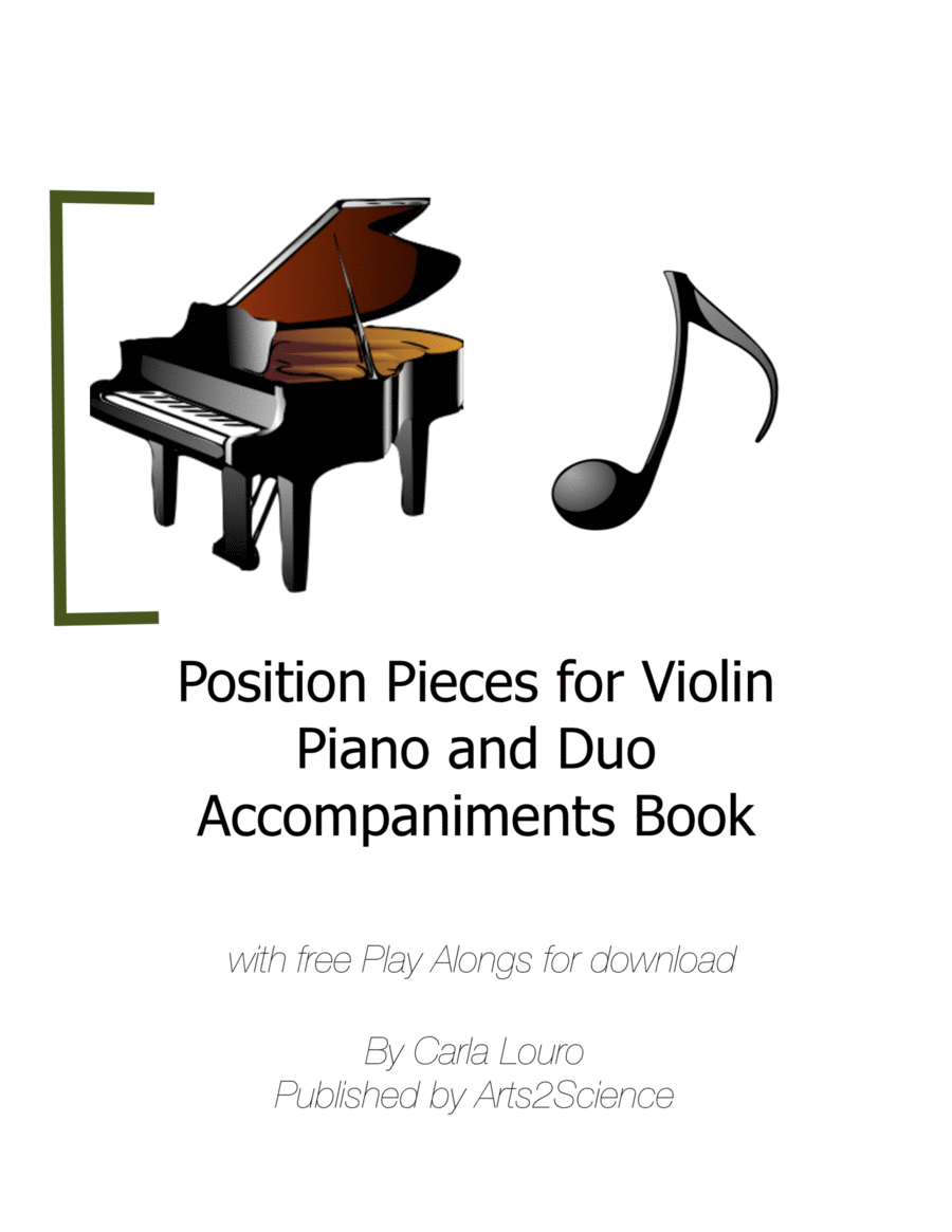 Position Pieces for Violin Piano and Duo Accompaniments Book
