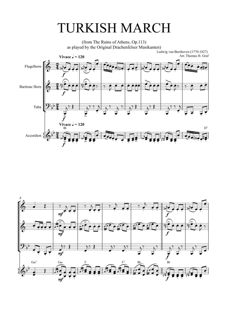 Turkish March (Quartet)