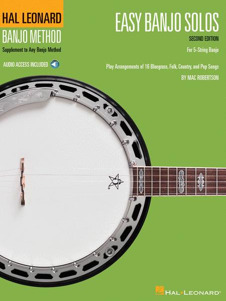 Easy Banjo Solos for 5-String Banjo -¦Second Edition