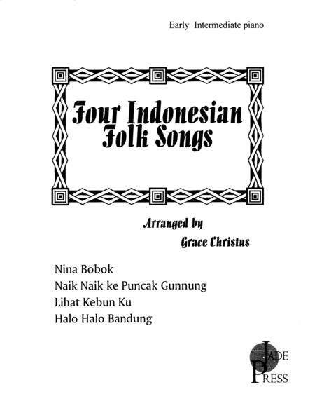 Four Indonesian Folk Songs