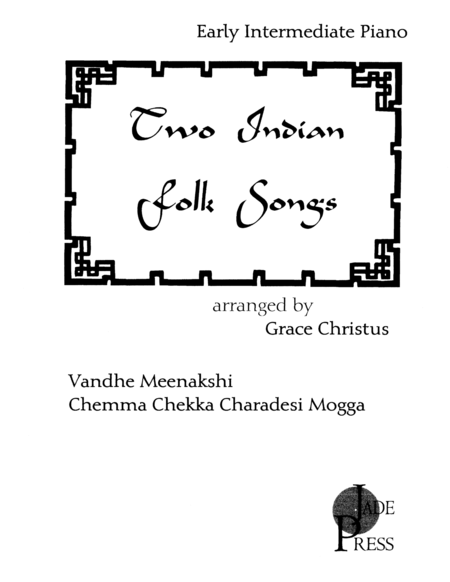 Two Indian Folk Songs
