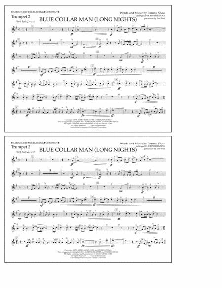 Blue Collar Man (Long Nights) - Trumpet 2