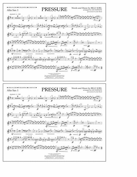 Pressure - Alto Sax 1