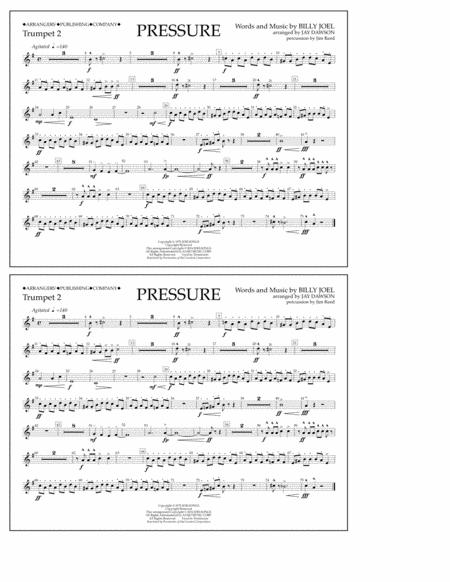 Pressure - Trumpet 2