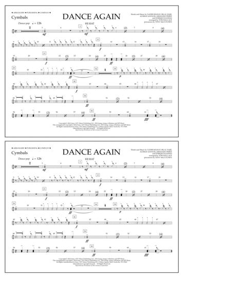 Dance Again - Cymbals