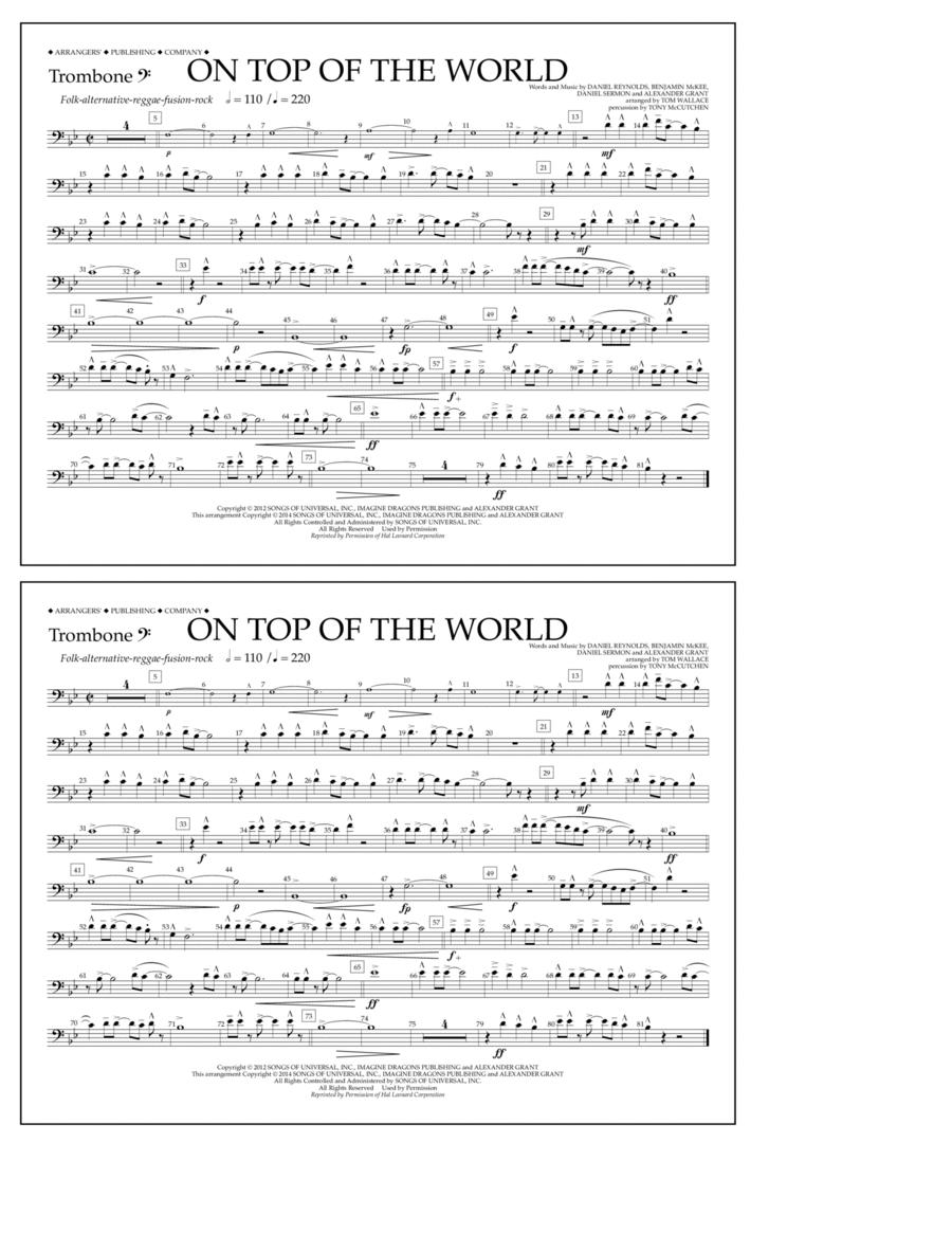 On Top of the World - Trombone B.C.