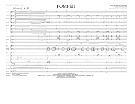 Pompeii - Full Score