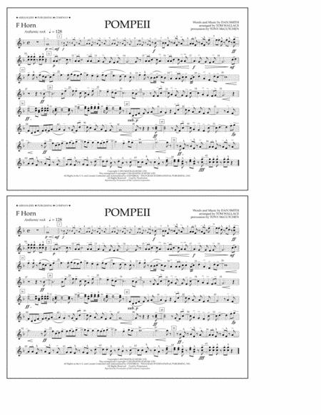 Pompeii - F Horn