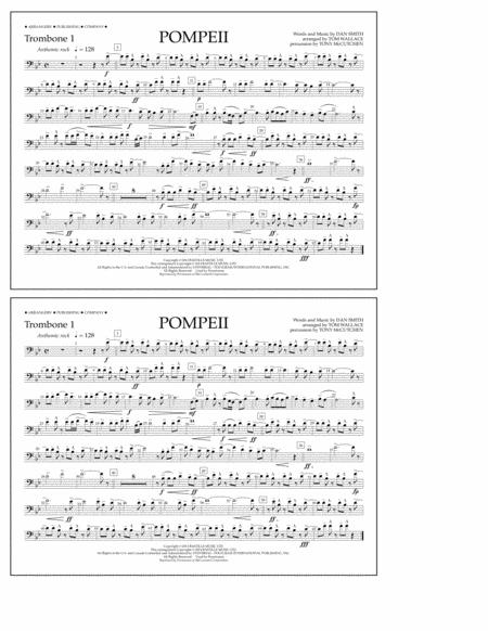 Pompeii - Trombone 1