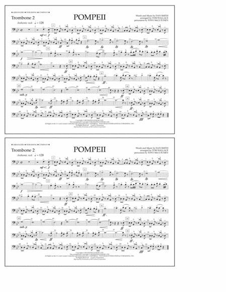 Pompeii - Trombone 2