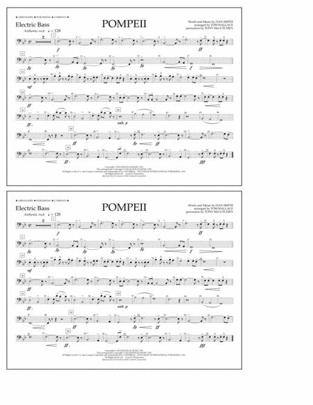 Pompeii - Electric Bass