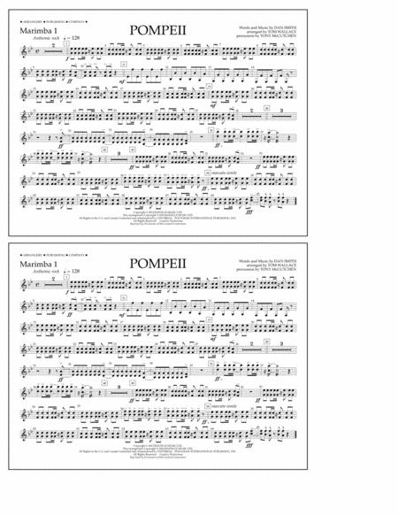 Pompeii - Marimba 1