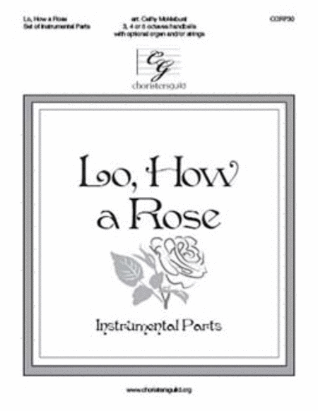 Lo, How a Rose - Instrument Parts