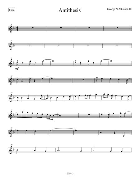 Antithesis Flute