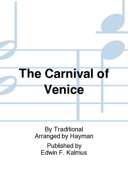 carnival of venice sheet music pdf