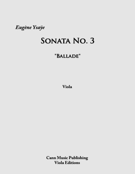 Sonata No.3