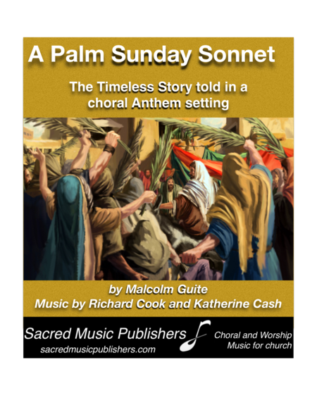 A Palm Sunday Sonnet PIANO VOCAL