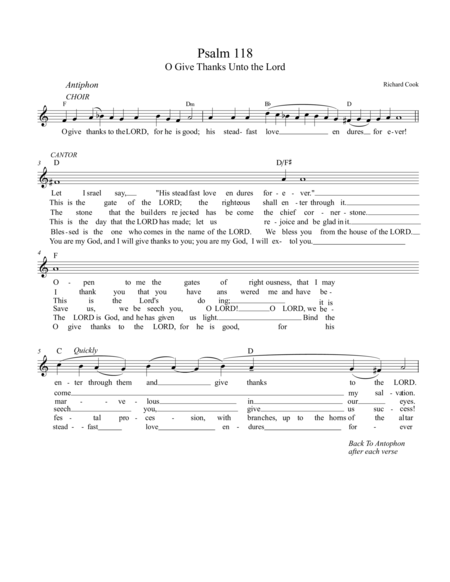 Psalm 118,