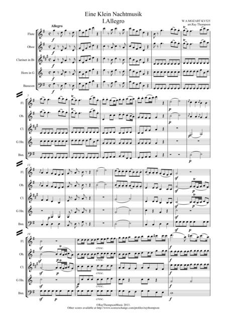 Mozart: Serenade No.13 in G