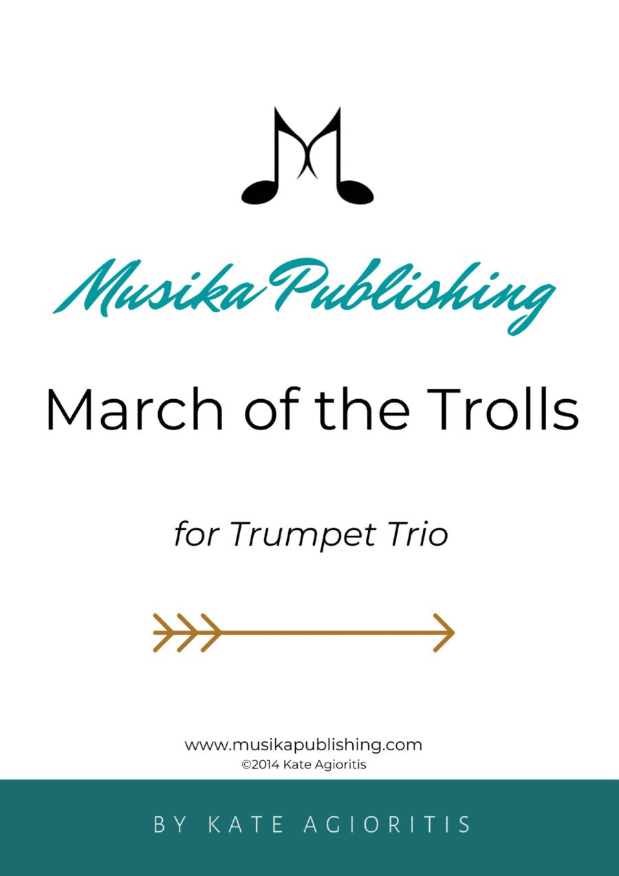 March of the Trolls - Trumpet Trio