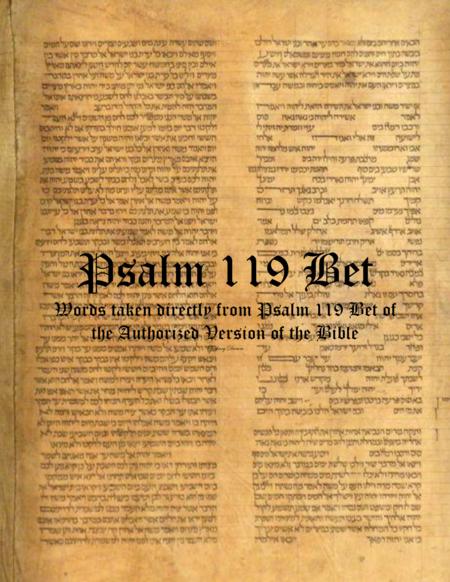 Psalm 119 Bet