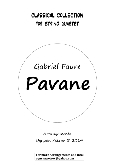 Pavane (short version)