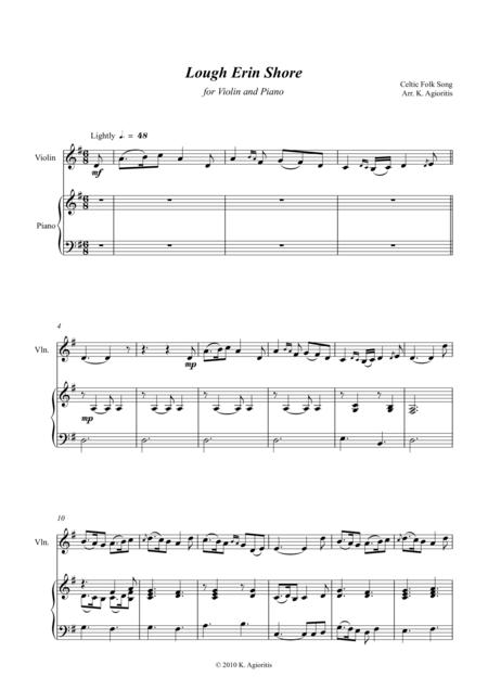 Lough Erin Shore - Violin and Piano