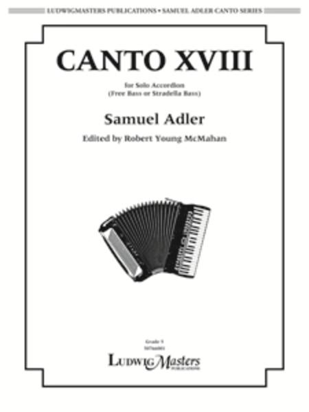 Canto XVIII