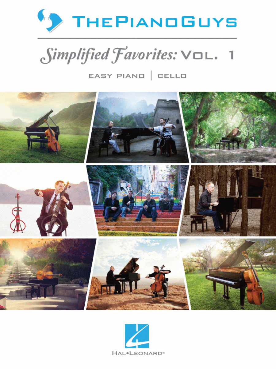 The Piano Guys - Simplified Favorites, Vol. 1