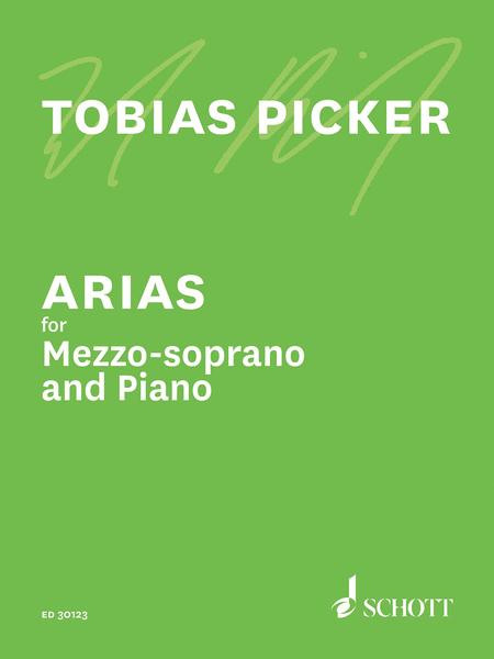 Arias for Mezzo-Soprano and Piano