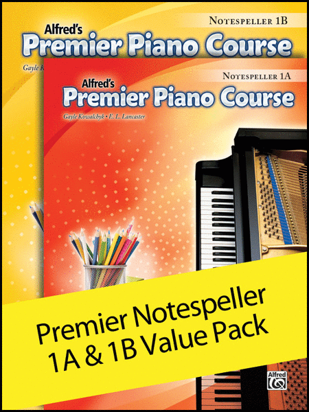 Premier Piano Course, Notespeller 1A & 1B (Value Pack)
