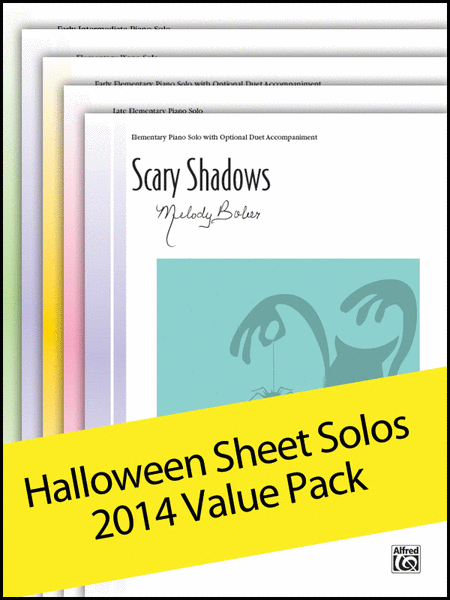 Halloween Sheet Solos 2014 (Value Pack)