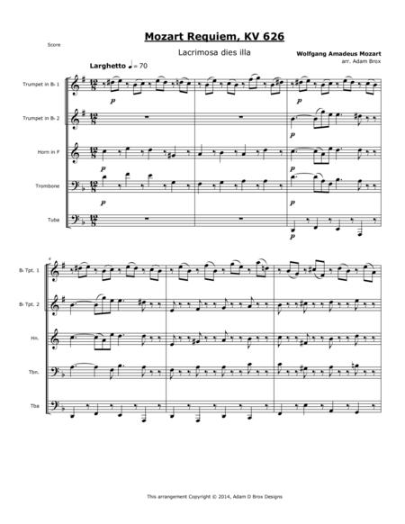 Mozart Requiem - Lacrimosa