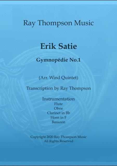 Satie: Gymnopédie No.1 - wind quintet