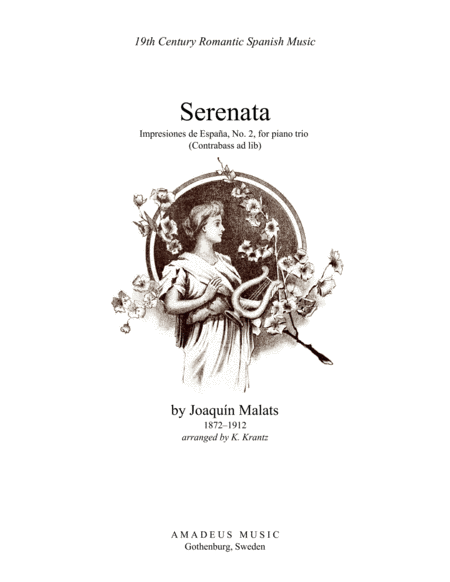 Serenata espanola for piano trio (contrabass part ad lib.)