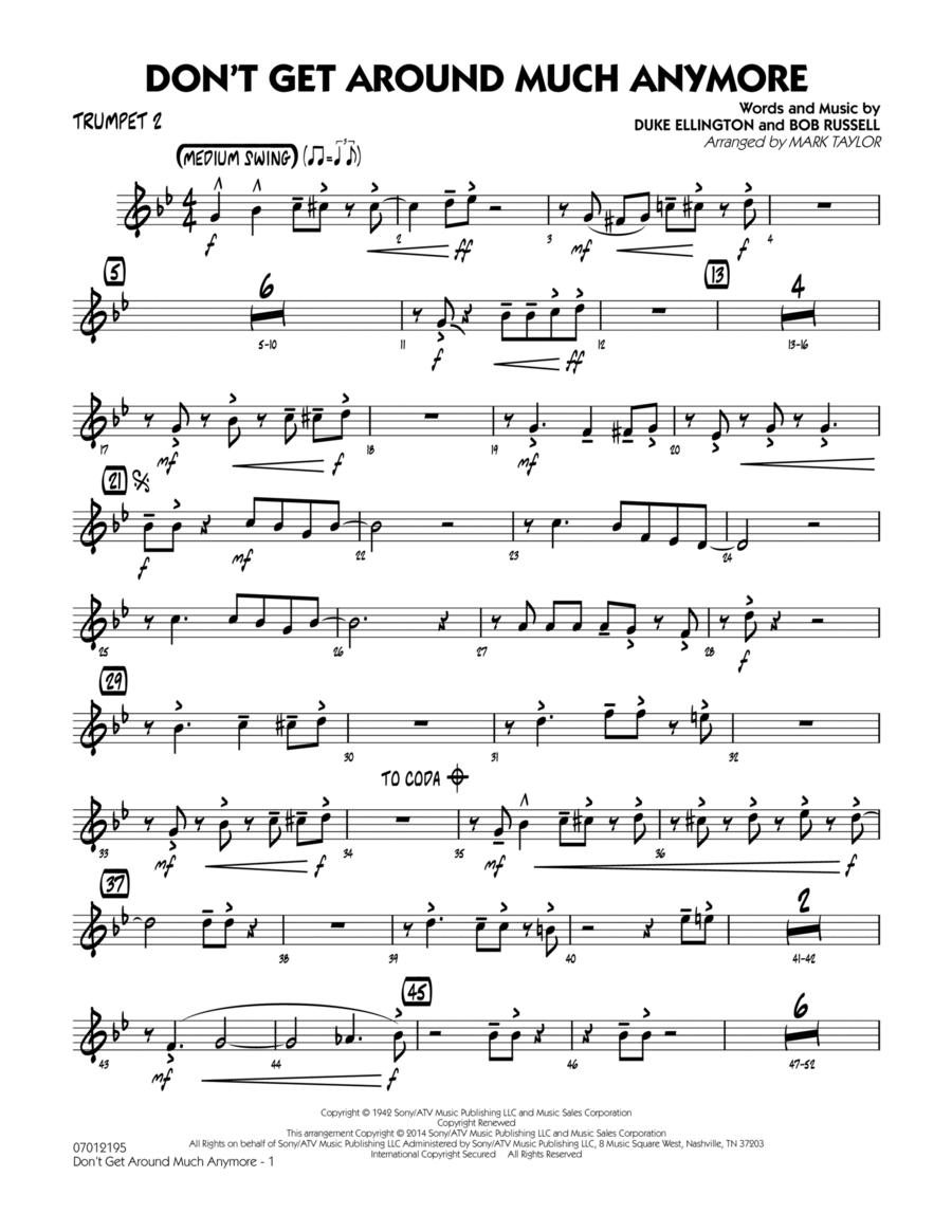 Don't Get Around Much Anymore - Trumpet 2