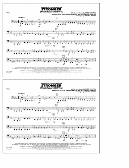 Stronger (What Doesn't Kill You) - Tuba