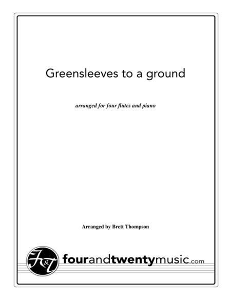 how to play greensleeves on piano
