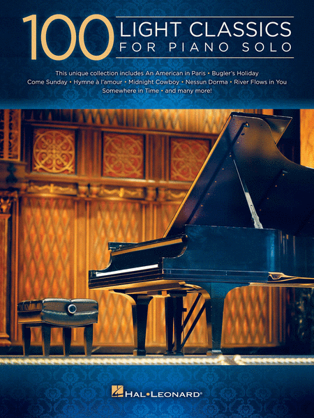 100 Light Classics for Piano Solo