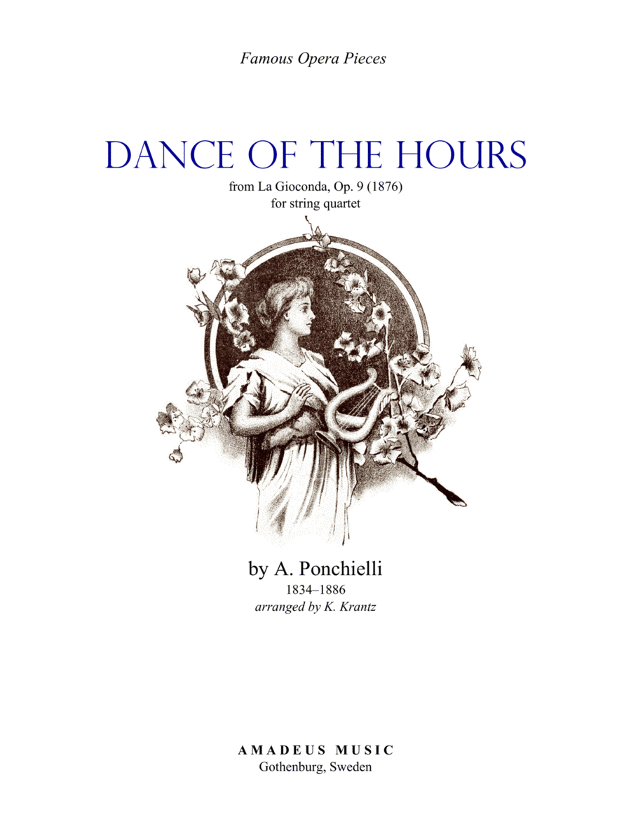 Dance of the Hours for string quartet