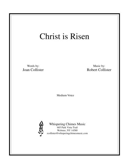 Christ is Risen (medium Voice)