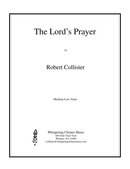 The Lord's Prayer (medium low voice)