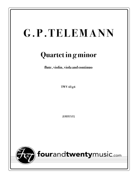 Quartet in g minor