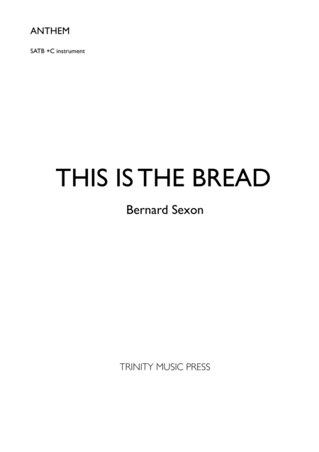 This Is The Bread